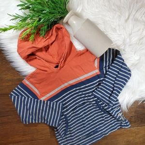🌿5/$25 Carter's Stripe Pullover | sz 4T | blue